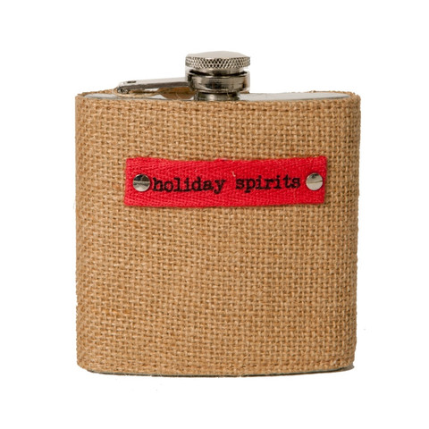 We found this cute burlap flask irresistible and wouldn't it make a fantastic hostess gift for all those holiday parties? The flask is available from the wonderful Huff Harrington shop in Atlanta where you'll find plenty of other wonderful gifts, but lucky for travelgirls, it is also available online. $22.50