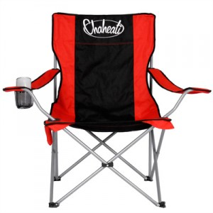 What a brilliant idea. A chair that heats up, with four temperature settings. The Chaheati All-Season Heated Chart is great for tailgating, hunting or watching a sporting event. A rechargeable battery provides six hours of heat off one charge and provides an even heat on the back and butt. $72.
