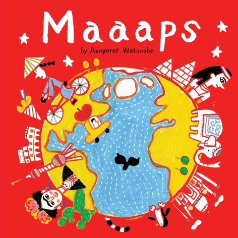 We love the maps done by They Draw and Travel and now these delightfully drawn are available in its first publication, Maaaps by Aunyarat Watanabe. Aunyarat has included charming maps for 18 of her favorite cities, a great gift for adults and children. Available on Amazon for $12.