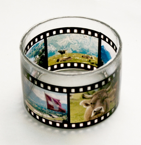 Capture the essence of your favorite journey with a custom made film strip travel bangle. Simply submit five photos and a handmade bangle will be created in a film strip negative style. Handcrafted destination bangles are also available. Both styles are $25, locations include: Switzerland (shown here), Paris, Italy, Scotland, Japan and more. Visit www.mialettinggo.com to order.
