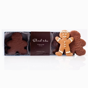 These cute little guys from Edward Marc Chocolatier will delight anyone on your list. Nine gingerbread men are covered in milk chocolate for an extra sweet version of the traditional holiday cookie. $32.